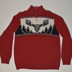 Chaps Ugly Christmas Sweater 100% Cotton